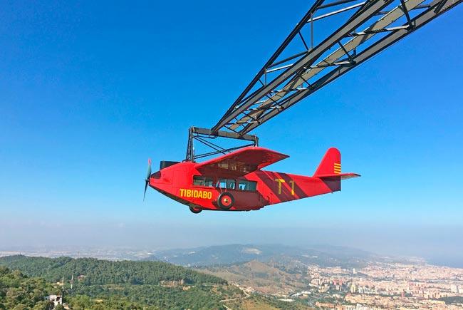 Avió   Parc d'atraccions Tibidabo