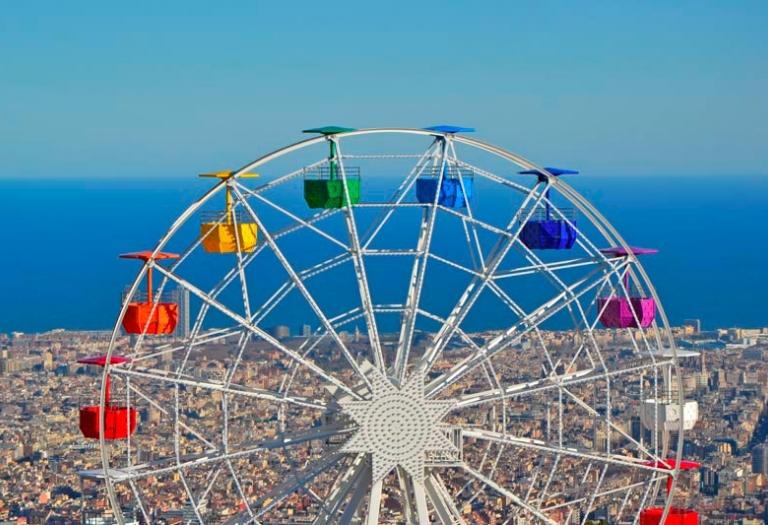 atraccions tibidabo amusement park