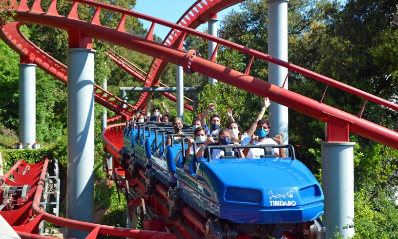 Tibidabo Amusement Park Theme Park In Barcelona